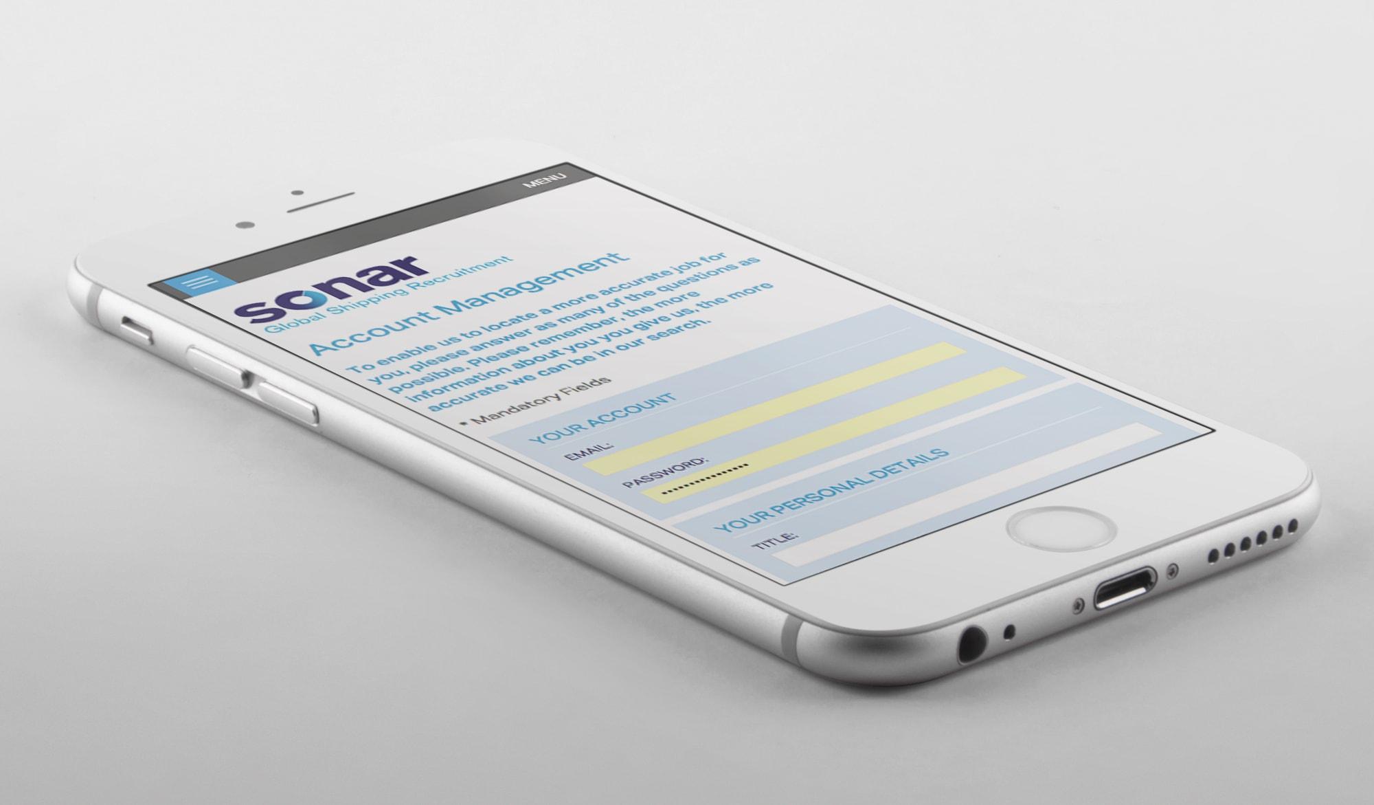 Sonar recruitment mobile 1