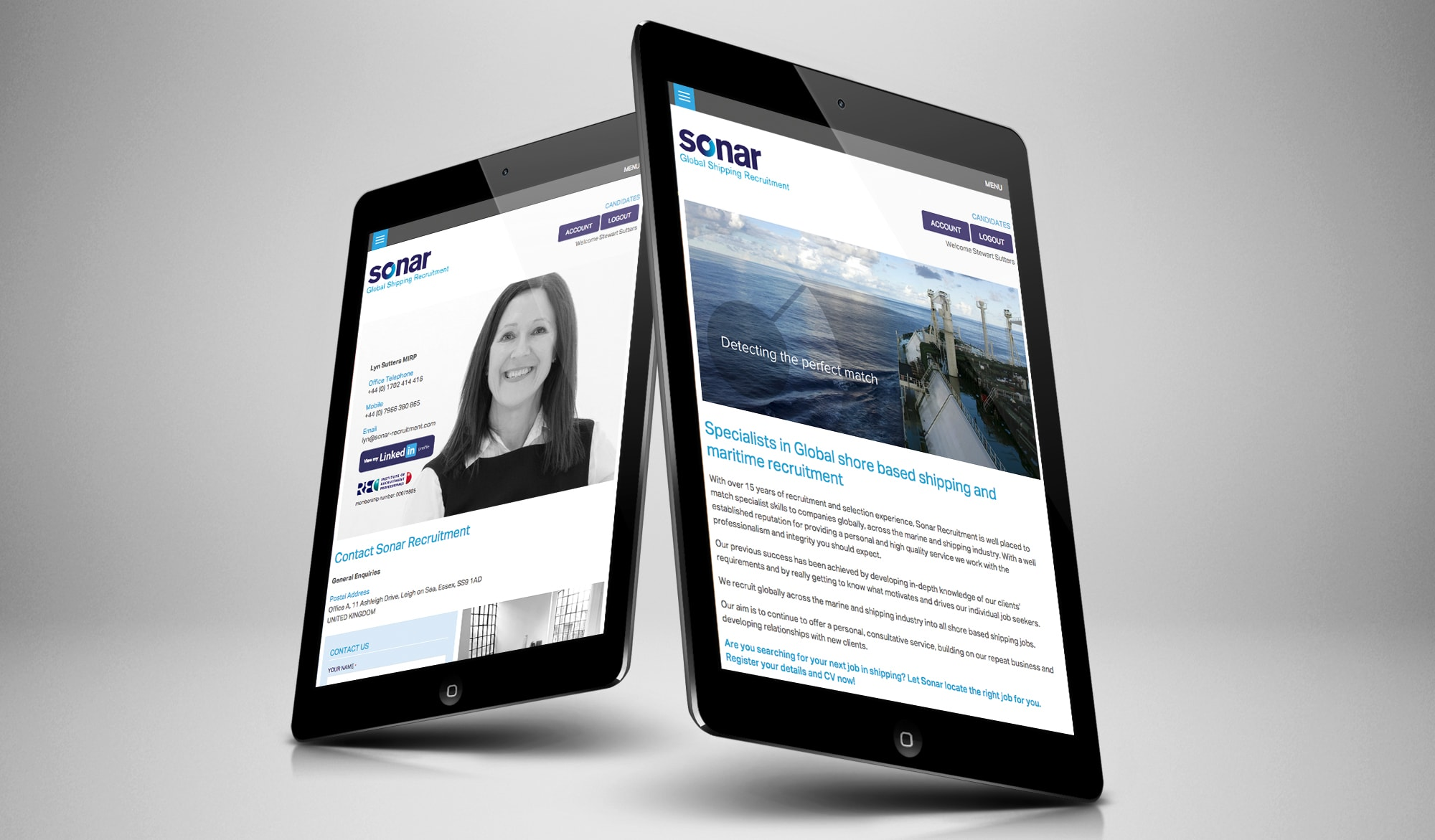 Our Work Case Study Sonar Recruitment Limited Clients