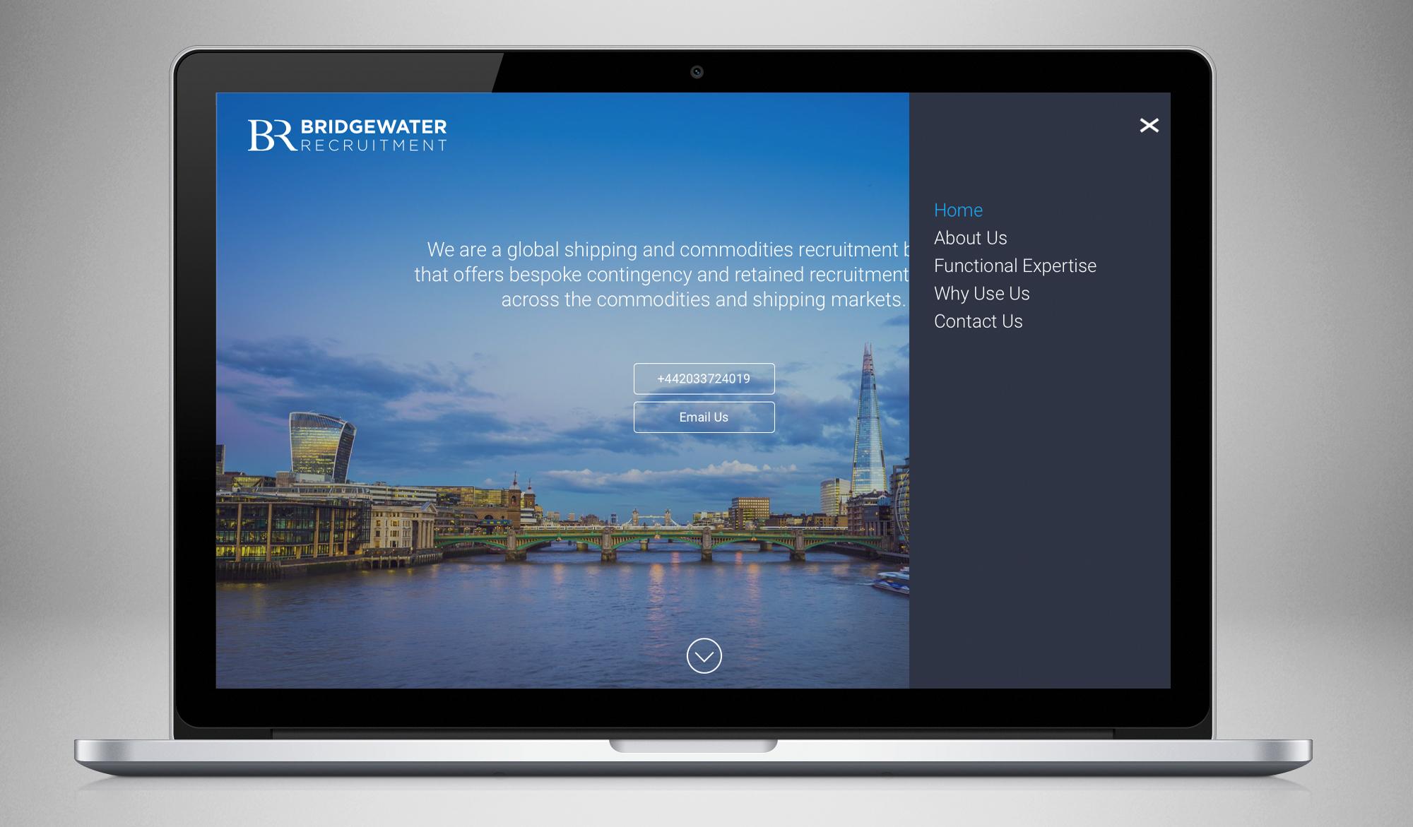 Bridgewater Recruitment laptop