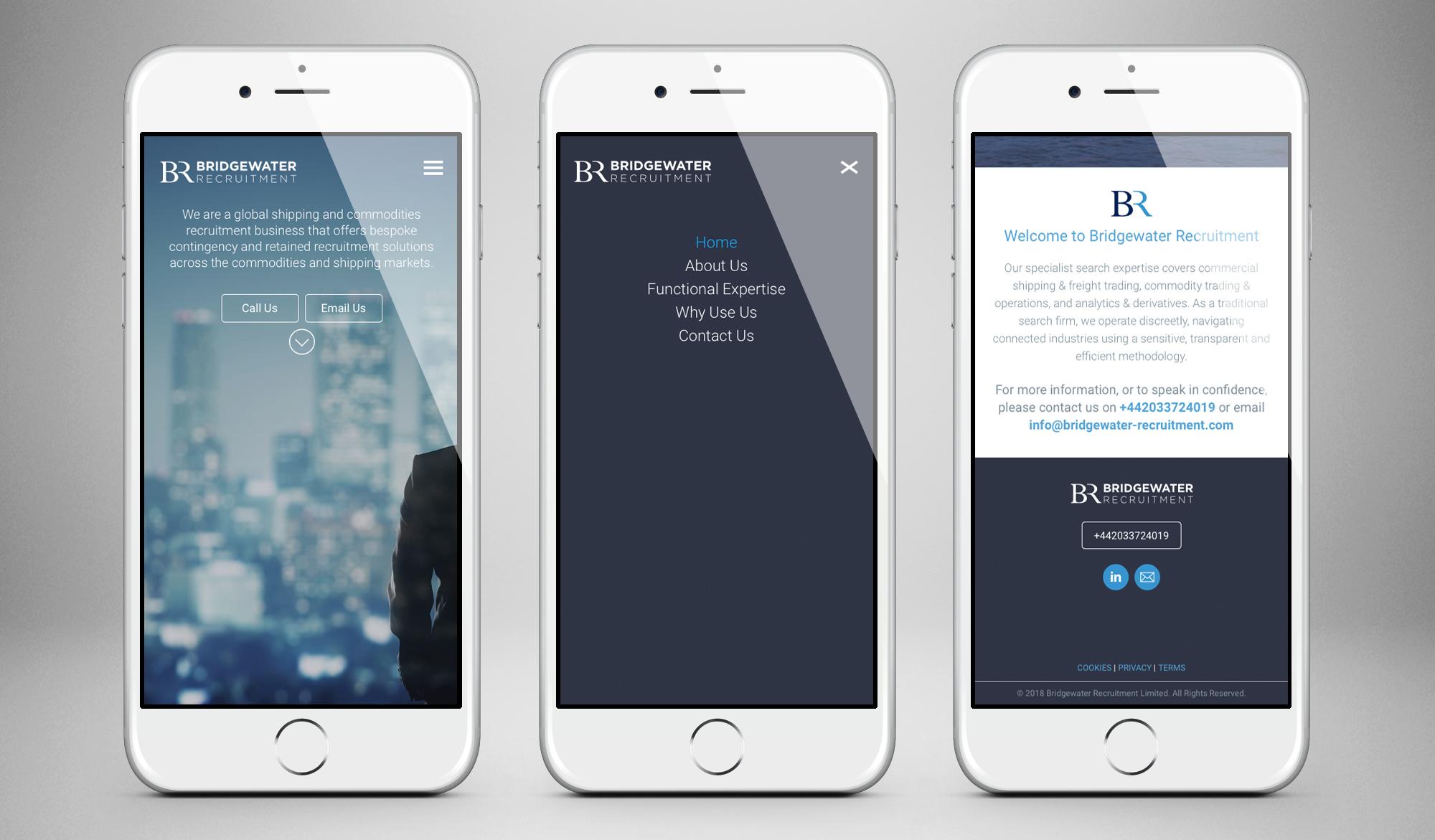 Bridgewater Recruitment mobile