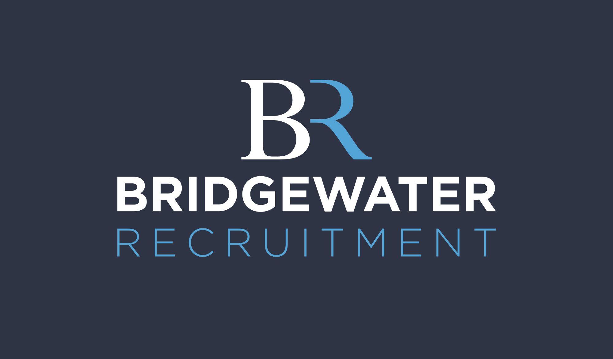 Bridgewater Recruitment Logo - reversed