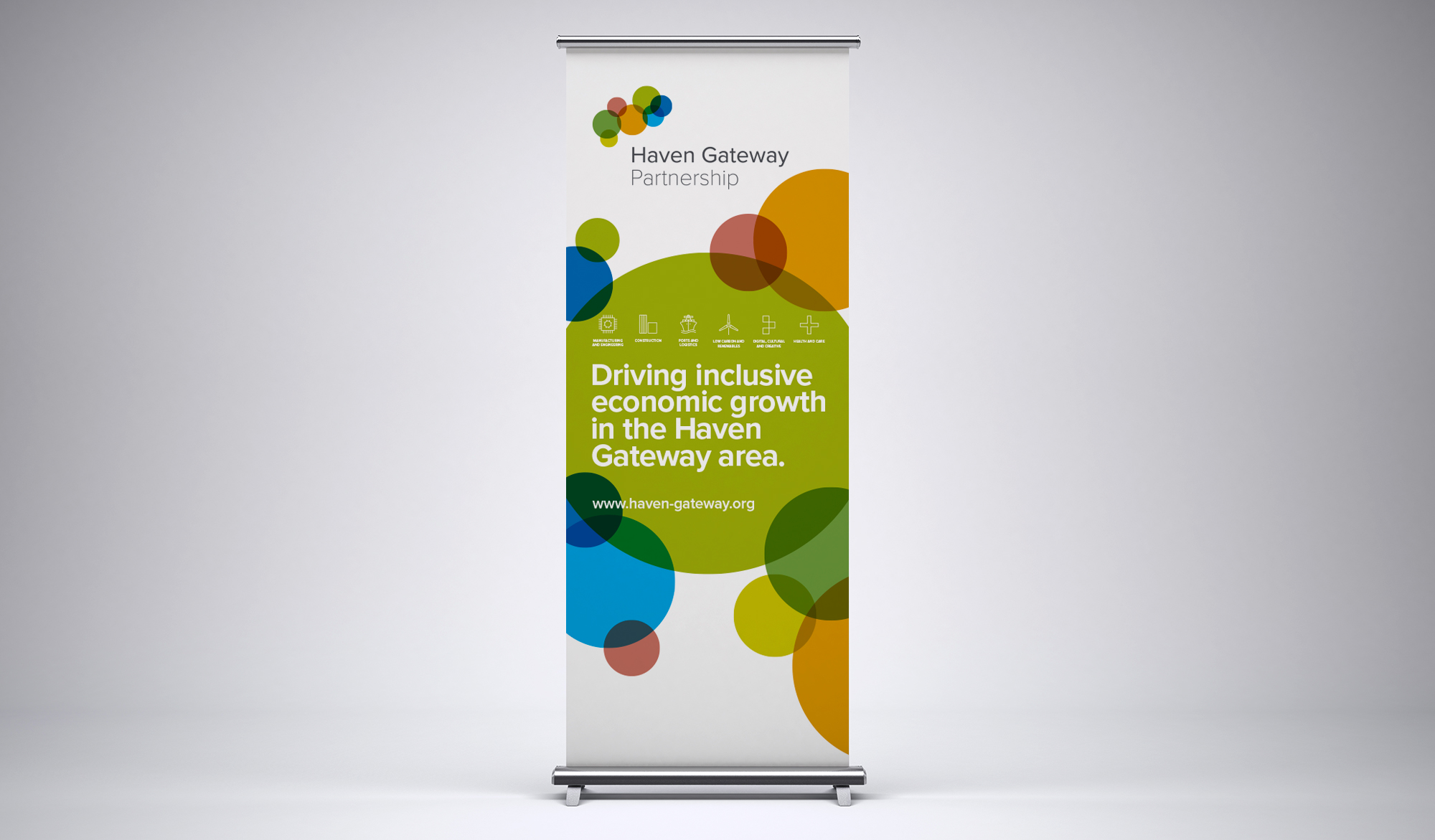 Haven Gateway Partnership roll up banner