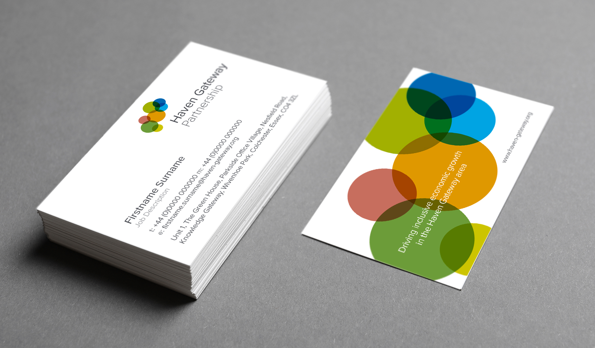 Haven Gateway Partnership business cards
