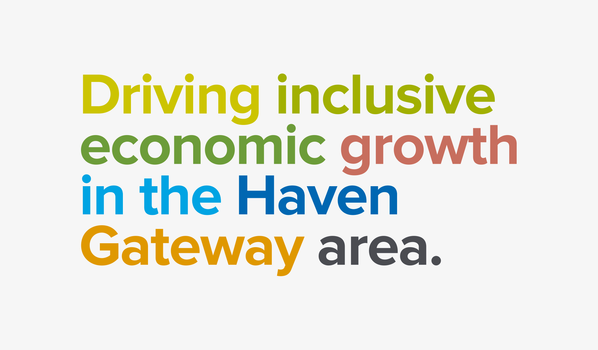 Haven Gateway Partnership typography