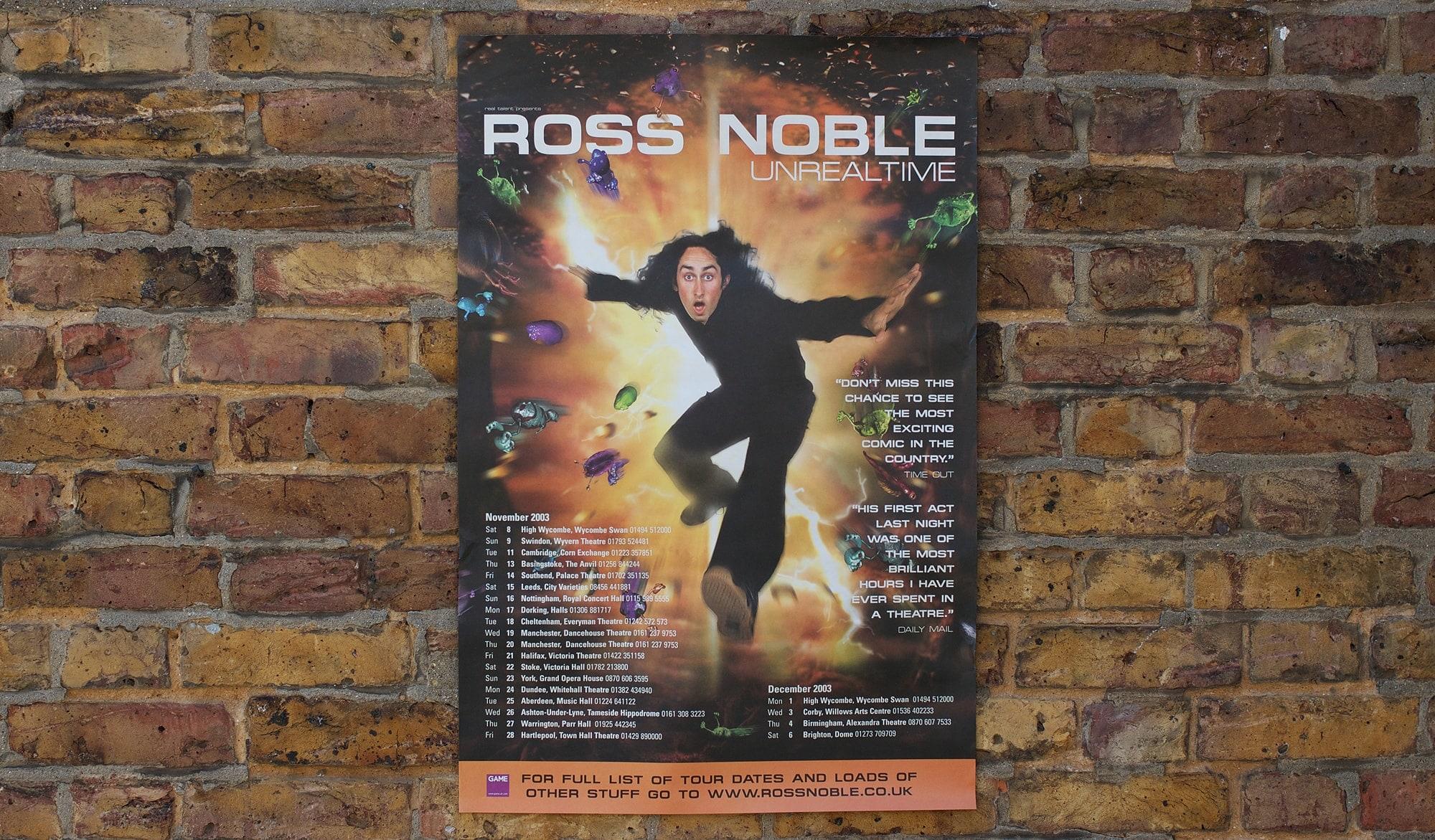 Ross noble poster
