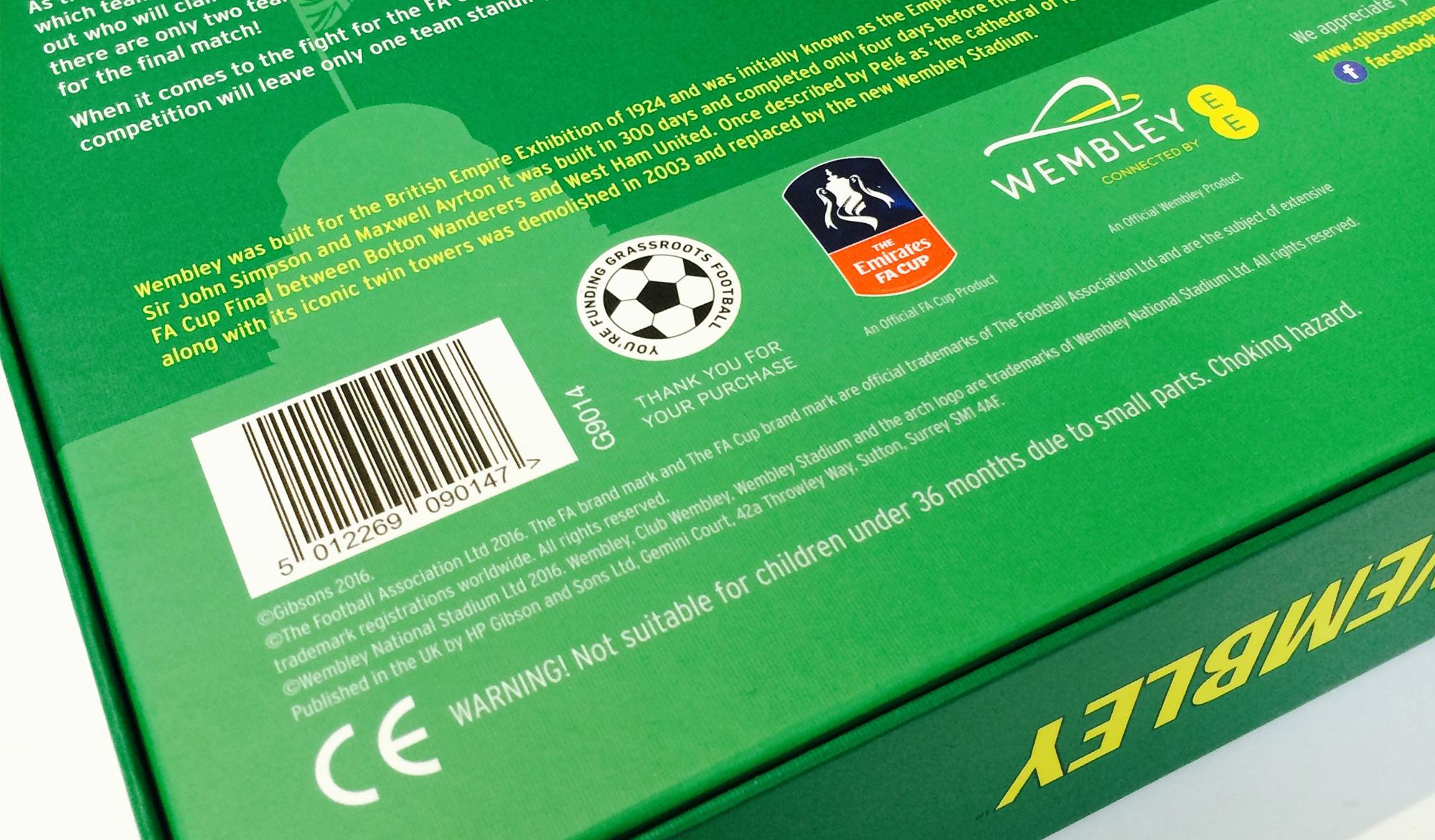 Wembley box back image