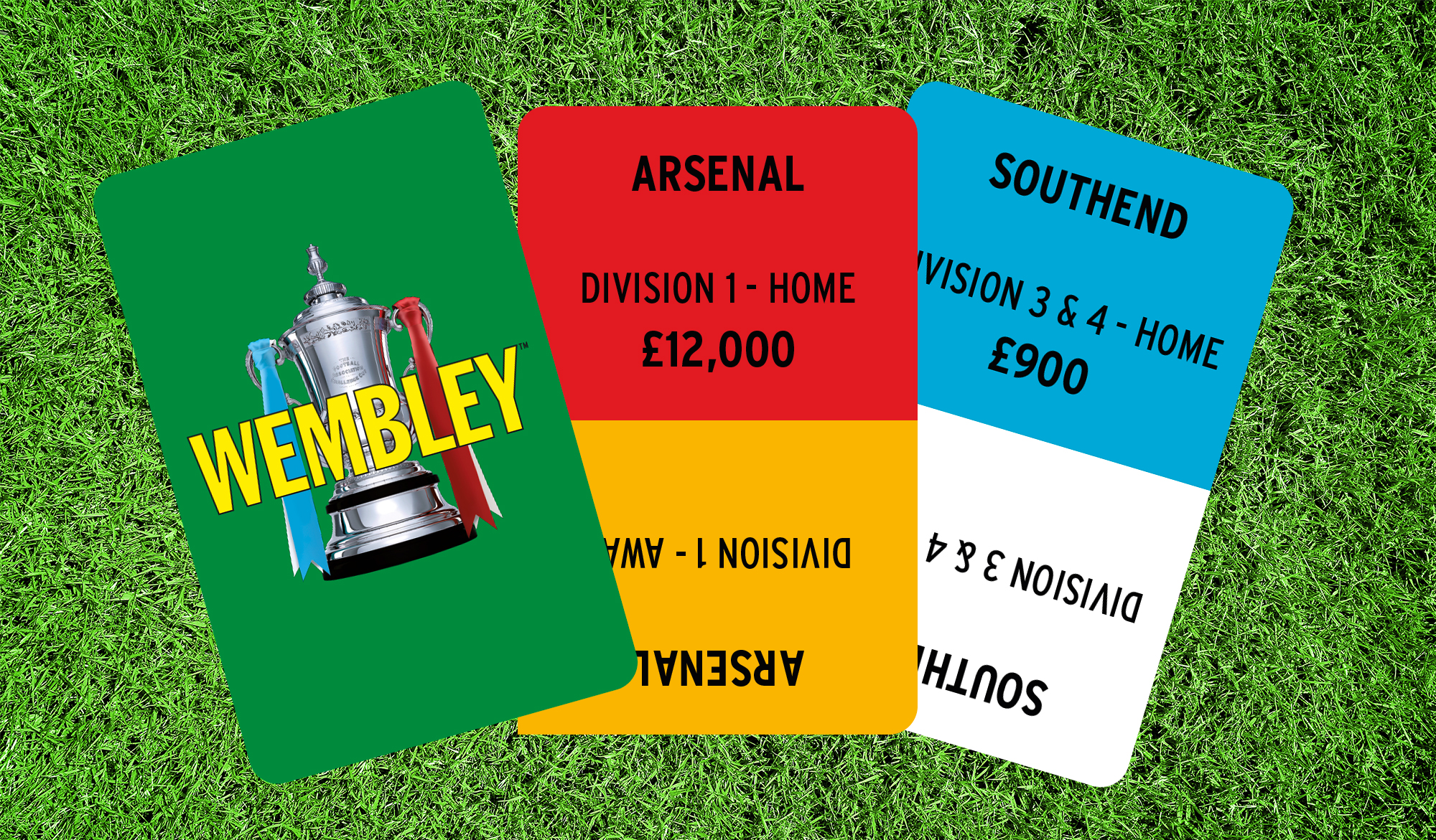 Wembley playing cards