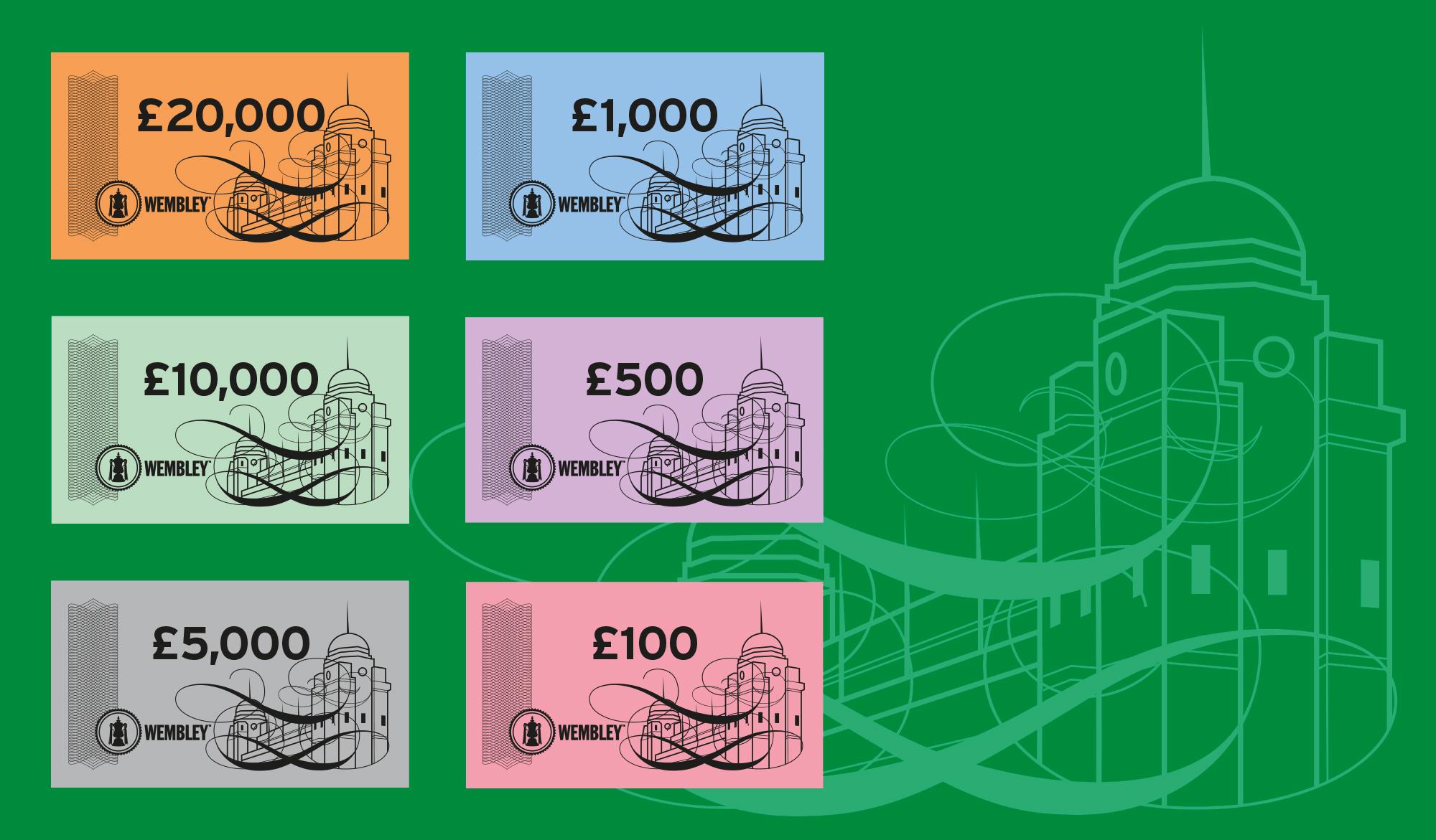 Wembley money