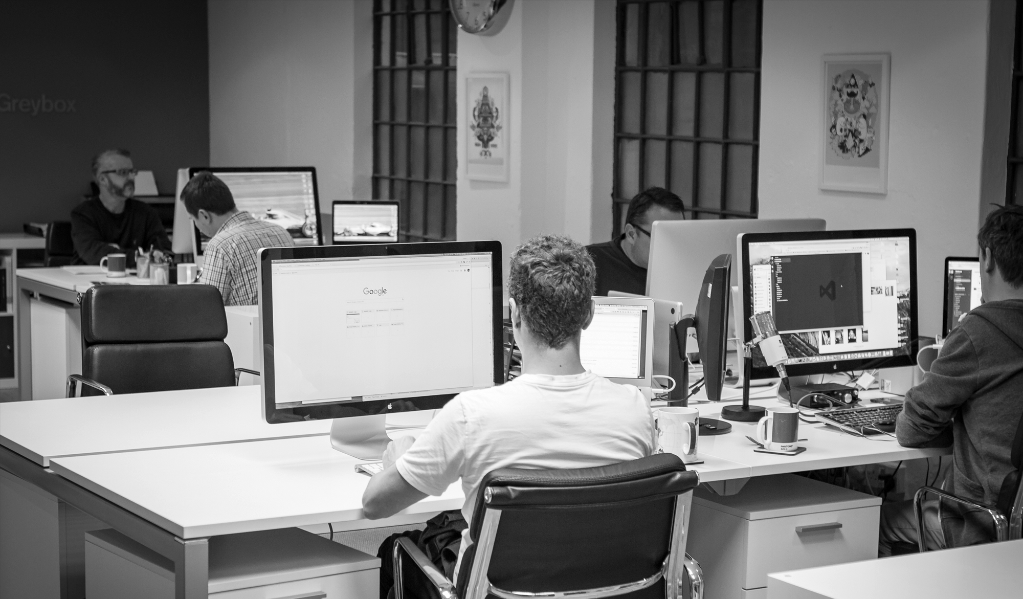 Greybox Creative studio team