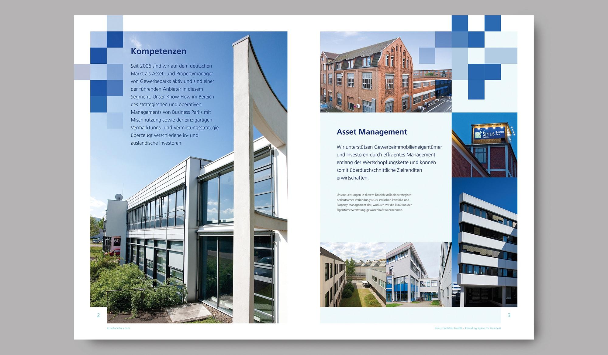 Sirius facilties corporate brochure